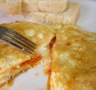 Breakfast # 9: Cheese & Chorizo Omelet