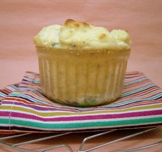 Hay Hay It's Donna Day #9: Spinach & Cheddar Soufflé