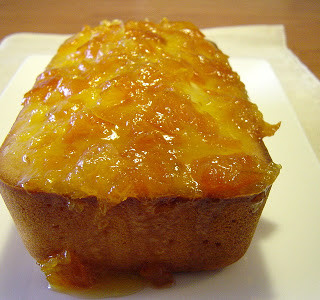 Yogurt Cake with Kumquat Marmalade Glaze