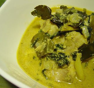 Thai Green Curry with Tilapia
