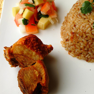 Bagnet with Bagoong Fried Rice