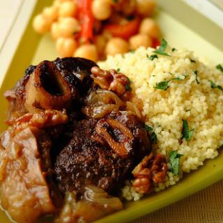 Walnut and Fig Braised Lamb