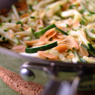 Zucchini with Toasted Almonds