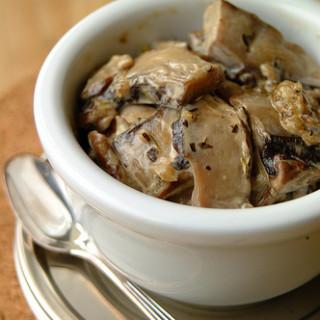 Mushrooms in Cream