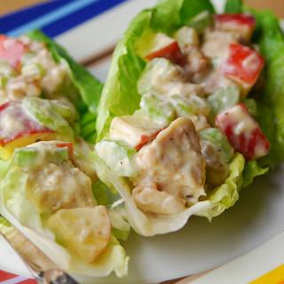 Spicy Chicken Waldorf Salad