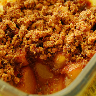 Breakfast #28: Nectarine Crumble