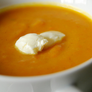 Catch-all Carrot & Sweet Potato Soup