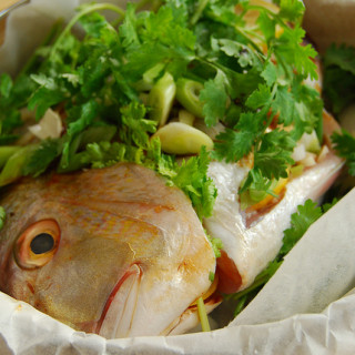 Steamed Fish, Asian Style