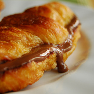 Breakfast #33: Nutella Croissant French Toast