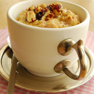 Breakfast #42: Carabao's Milk Oatmeal with Dates & Nuts