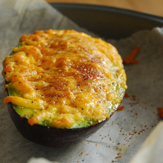 Breakfast #60: Baked Egg in Avocado