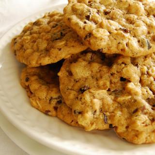 Oatmeal Walnut Cocoa Nib Cookies