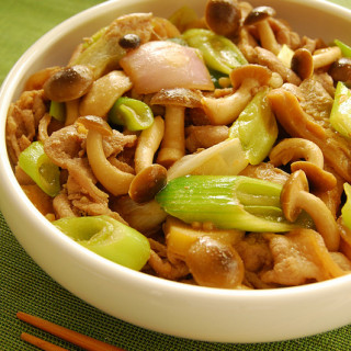 Asian-Style Pork Stir-fry