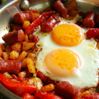 Breakfast #66: Spanish Chorizo Breakfast Skillet
