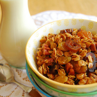 Breakfast #71: Golden Granola