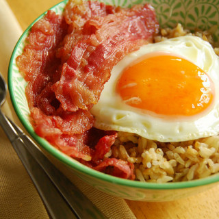 Breakfast #72: Wagyu Bacon & Eggs, Indulgence, and A Giveaway!